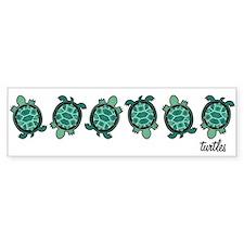 Turtle Town Bumper Bumper Sticker
