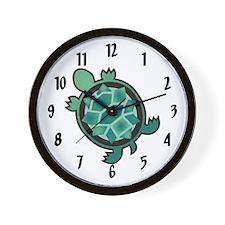 Turtle Town Wall Clock