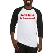 Adeline is Awesome Baseball Jersey