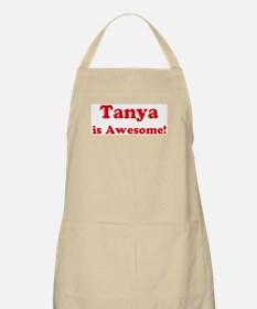 Tanya is Awesome BBQ Apron