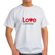 I Love Carolina T-Shirt
