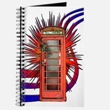 British Red Telephone Box Art Journal