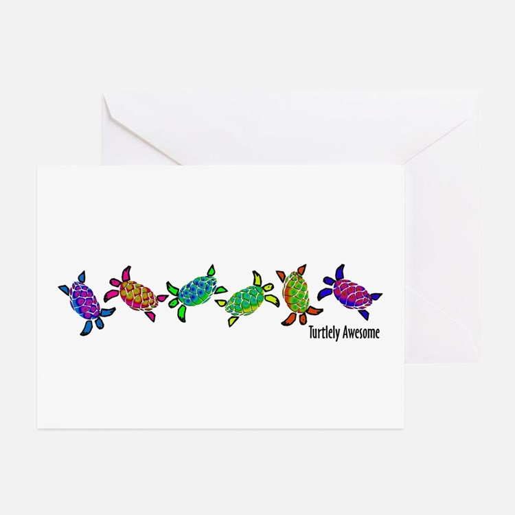 Turtlely Awesome Greeting Cards (Pk of 10)