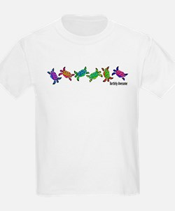 Turtlely Awesome Kids T-Shirt