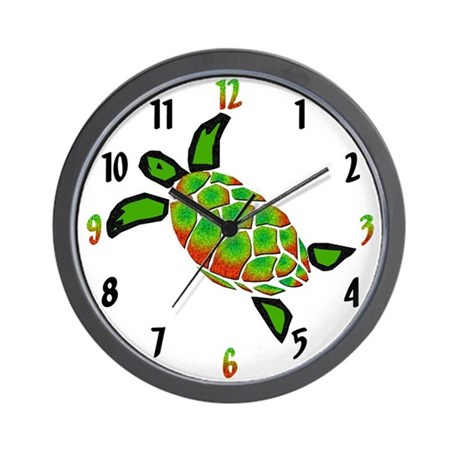 Turtlely Awesome Wall Clock By C2gdesigns2