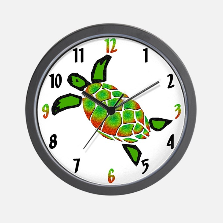 Turtlely Awesome Wall Clock