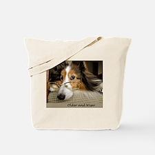 Older and Wiser Tote Bag