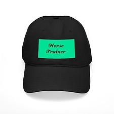Horse Trainer Baseball Hat