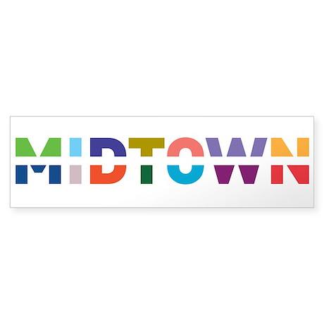 MIDTOWN - Bumper Sticker