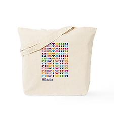 MIDTOWN ATL Pulse Tote Bag
