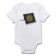 You Lite Up My Life Infant Bodysuit
