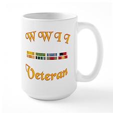 WWII Veterans Large Coffee Mug