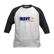 Proud Navy Girlfriend! Baseball Jersey