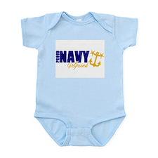 Proud Navy Girlfriend! Body Suit