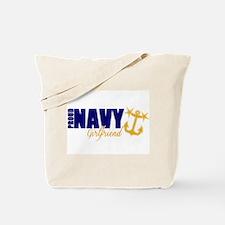 Proud Navy Girlfriend! Tote Bag