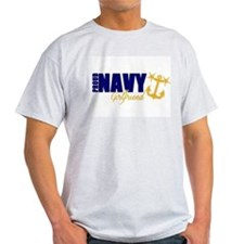 Proud Navy Girlfriend! T-Shirt