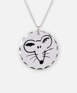 Rat Face Necklace
