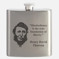 Disobedience Is The True Foundation - Thoreau Flas