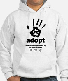 Cotton Blend Adopt Hoodie Sm-2XL