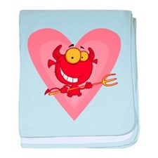 Pitchfork Devil Love baby blanket