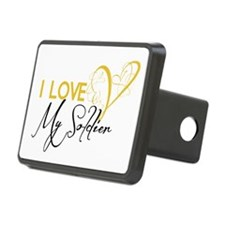 I love my Soldier! Hitch Cover