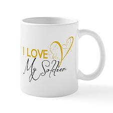 I love my Soldier! Mug