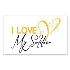 I love my Soldier! Decal