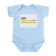 I'm a Soldier's Princess! Infant Bodysuit