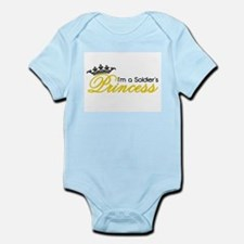 I'm a Soldier's Princess! Infant Bodysuit