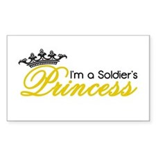 I'm a Soldier's Princess! Decal