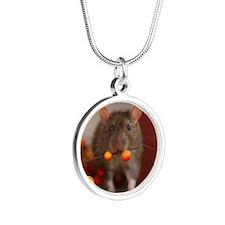 Tango Silver Round Necklace