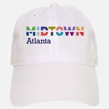 Midtown Atlanta - Baseball Baseball Cap - Full Color