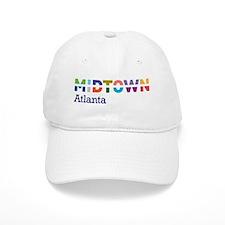 Midtown Atlanta - Baseball Cap - Full Color