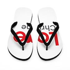 I Love Christine Flip Flops