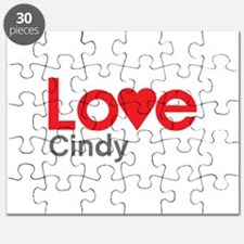 I Love Cindy Puzzle