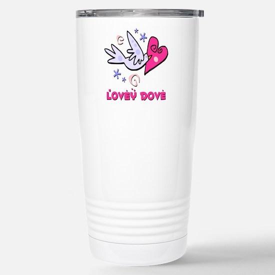 Lovey Dove Stainless Steel Travel Mug