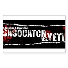 Sasquatch VS Yeti Decal