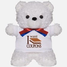 I Want Smore Coupons Teddy Bear