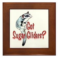 Sugar Glider Framed Tile