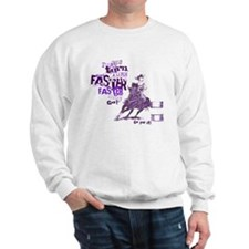 Funny Quarter horse racing Sweatshirt