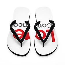 I Love Constance Flip Flops