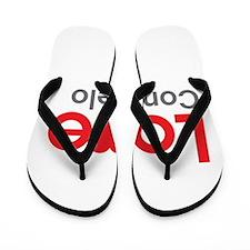I Love Consuelo Flip Flops
