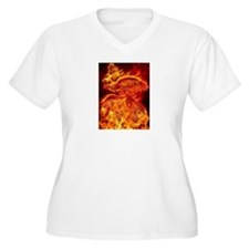 Phoenix Rising Plus Size T-Shirt