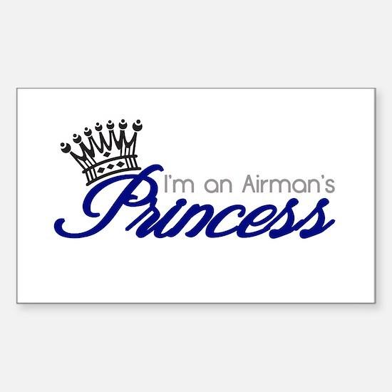 I'm an Airman's Princess Decal
