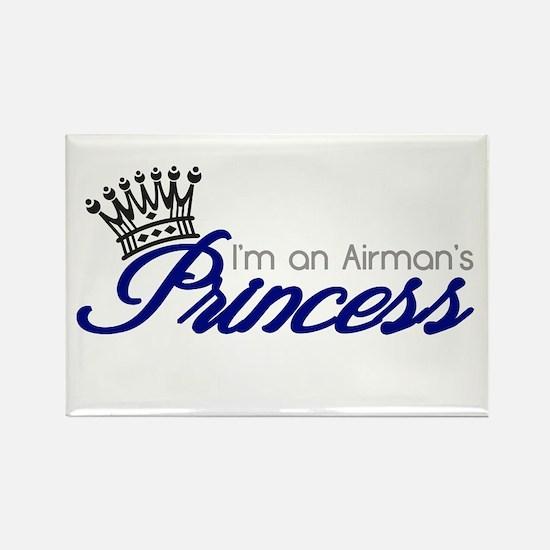 I'm an Airman's Princess Rectangle Magnet