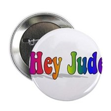 """Hey Jude t-shirt front 2.25"""" Button"""