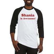 Shania is Awesome Baseball Jersey