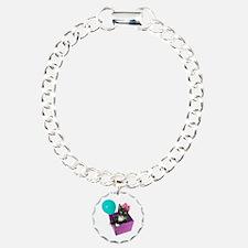Tuxedo Cat Birthday Bracelet