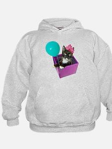 Tuxedo Cat Birthday Hoodie
