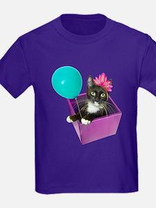 Tuxedo Cat Birthday T